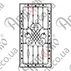 Forged grate 1000х2000 - picture