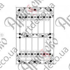 Forged grate 1000х1500 - picture