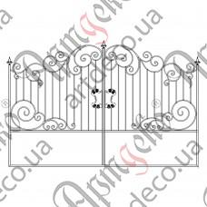 Кованые ворота 3200х2000 - изображение
