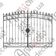 Forged gates 2700х1890 - picture