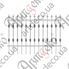Forged fence 2000х1450 - picture