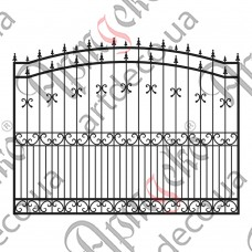Forged fence 2964х2000 - picture