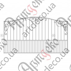 Forged fence 3000х1700 - picture