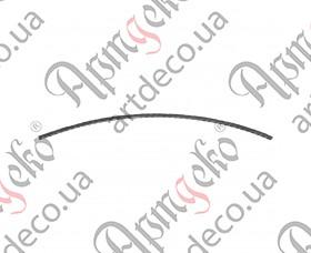 Кованая дуга 290х1900х40х25 - изображение