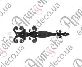 Кованая петля стрела 155х520х3 - изображение