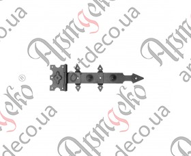Кованая петля стрела 120х425х3 - изображение