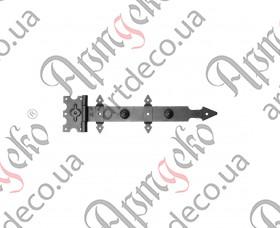 Кованая петля стрела 120х495х3 - изображение