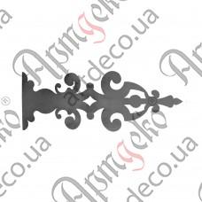 Накладка на петли 225х615х2 - изображение