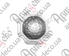 Кованая пятка декоративная 74х74х2 - изображение