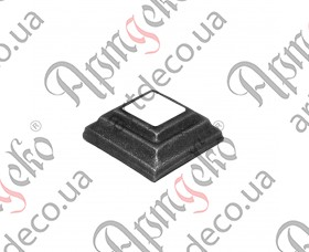 Кованая пятка 50х50х20 под 20,5 кв. - изображение