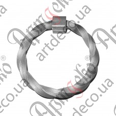 Forged handle 125х115 - picture
