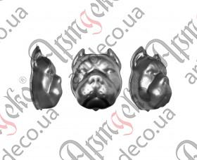 Собака штампованная 185х150х1,5 - изображение