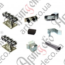 Set accessories for sliding gates up to 500 kg - picture