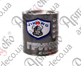 Грунт алкидный серый, VIKKING, 0,9 кг - изображение