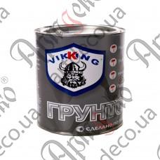 Грунт алкидный серый, VIKKING, 2,8 кг - изображение
