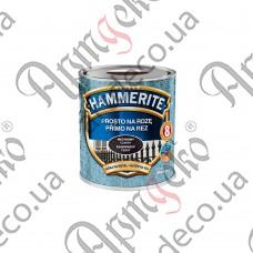 Paint Hammerite black hammer effect 0,700 L - picture