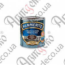 Hammerite paint brown hammer effect 0,700 L - picture