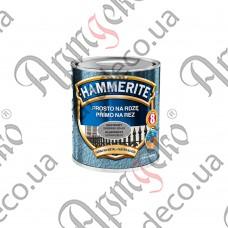 Краска Hammerite молотковая серебристо-серая 2,5л - изображение