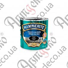 Краска Hammerite матовая чёрная 0,700л - изображение