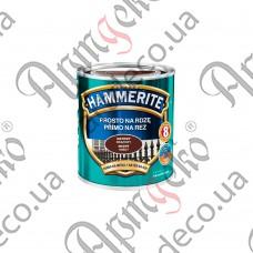 Краска Hammerite матовая коричневая 0,700л - изображение