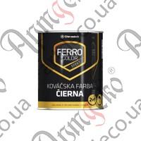 Краска FERRO COLOR матовая чёрный антрацит 2,5л - изображение