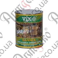 Краска VIK HAMMER молотковая чёрная 0,750л - изображение