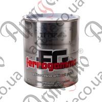 Краска VIK FERRO GAMMA металлик чёрная 0,750л - изображение
