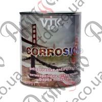 Краска антикоррозийная VIK полуматовая чёрная 0,750л - изображение