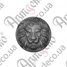 Лев (Сталь) 230х63мм - изображение
