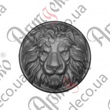 Лев (Сталь) 280х78мм - изображение