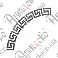 Меандр сегмент R435х75х6 - изображение