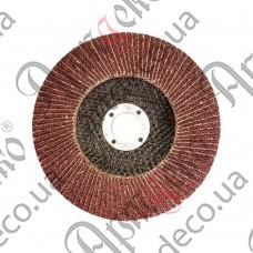 Круг торцовочный лепестковый Р40 125х22,2 - изображение