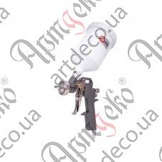 Пневмопистолет лакокрасочный, бак 600мл - изображение