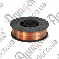 Проволока сварочная 4,3 кг/0,8мм (омеднённая) - изображение