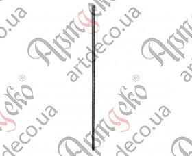 Кованый столб 1200х20х20 вальц. - изображение