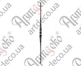 Столб 1200х45х20 вальц. - изображение