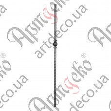 Столб 1200х50х25 вальц. - изображение
