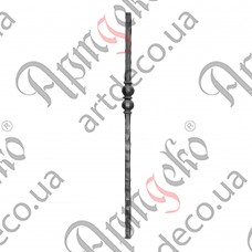 Baluster post 1200х60х25 - picture