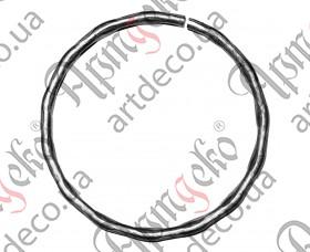 Кованое кольцо 100х12х6 вальц. - изображение
