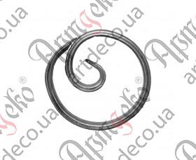 Кованое кольцо диаметр 120х14х7 - изображение