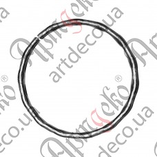Ring 120x12x6 beaten - picture