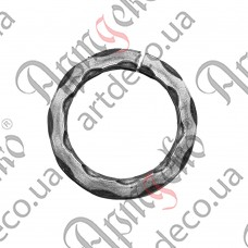 Ring 100x12 beaten - picture