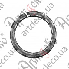Ring 120x12 beaten - picture