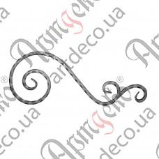 Декоративний элемент 550х210х12 вальц. - изображение