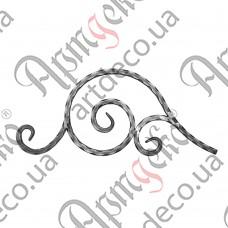 Декоративний элемент 515х215х12 вальц. - изображение