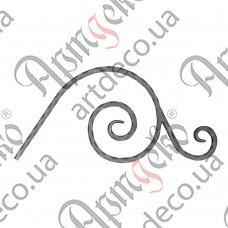 Декоративний элемент 500х235х12 вальц. - изображение