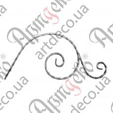 Декоративний элемент 500х235х12х6 вальц. - изображение