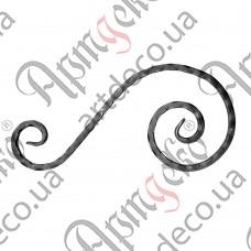 Декоративний элемент 430х220х12 вальц. - изображение