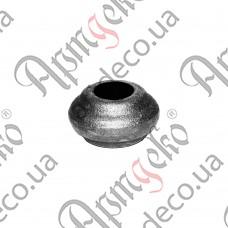 Насадка 22х40х14,5 отверстие под кругляк - изображение