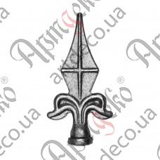 Forged spear 112х57х20 - picture